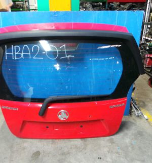 2012 HOLDEN BARINA BOOT LID TAILGATE