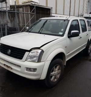 2004 HOLDEN RODEO FRONT SEAT