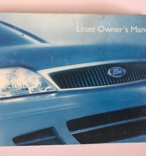2000 FORD LASER OWNERS HANDBOOK / USER MANUAL / HAND BOOK