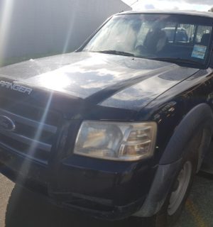 2008 FORD RANGER RIGHT REAR WINDOW REG MOTOR