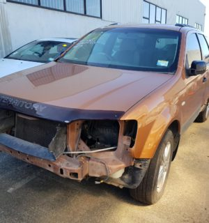 2005 FORD TERRITORY RIGHT REAR WINDOW REG MOTOR