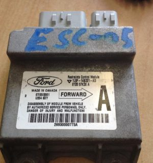 2001 FORD ESCAPE AIR BAG MODULE SENSOR