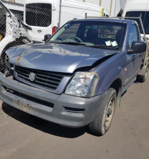 2004 HOLDEN RODEO JACK / HYDRAULIC / SPARE WHEEL
