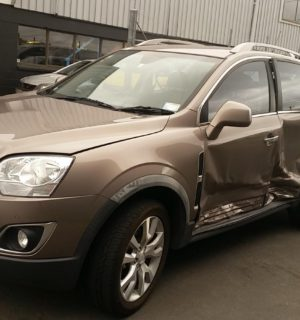 2014 HOLDEN CAPTIVA LEFT GUARD