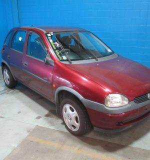 2000 HOLDEN BARINA LEFT FRONT DOOR