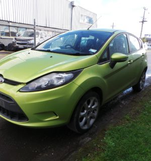 2010 FORD FIESTA LEFT GUARD LINER