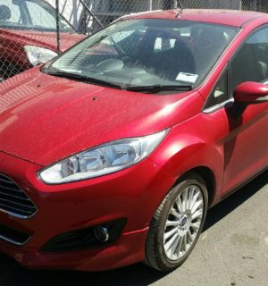 2015 FORD FIESTA LEFT HEADLAMP
