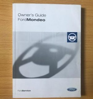 2009 FORD MONDEO OWNERS HANDBOOK / USER MANUAL / HAND BOOK