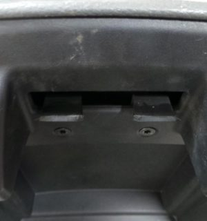 2012 FORD RANGER CONSOLE