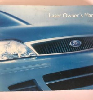 2001 FORD LASER OWNERS HANDBOOK / USER MANUAL / HAND BOOK