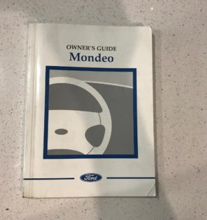 2004 FORD MONDEO OWNERS HANDBOOK / USER MANUAL / HAND BOOK