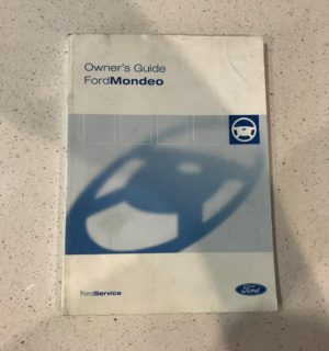 2010 FORD MONDEO OWNERS HANDBOOK / USER MANUAL / HAND BOOK
