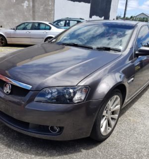 2008 HOLDEN COMMODORE CARGO BARRIER