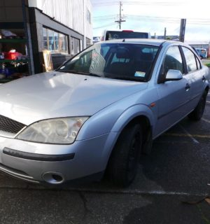 2004 FORD MONDEO REAR LOWER APRON