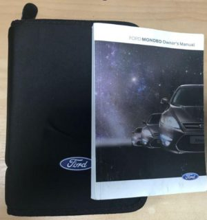 2014 FORD MONDEO OWNERS HANDBOOK / USER MANUAL / HAND BOOK